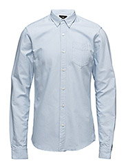 NOS - Classic button down oxford - 50 BLUE
