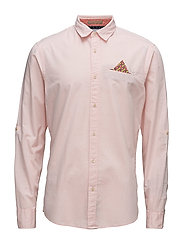 RELAXEFIT Classic shirt with fixepochet ansleeve colle - COMBO B