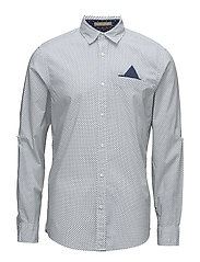 RELAXEFIT Classic shirt with fixepochet ansleeve colle - COMBO C