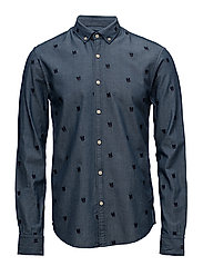 Distillery all over embroidered shirt - COMBO A