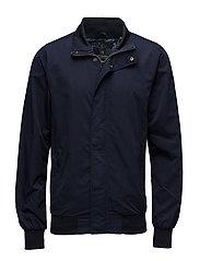 Classic bomber jacket in nylon - NAVY