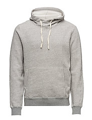 Home Alone twisted hoody - GREY MELANGE
