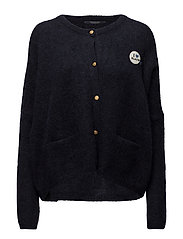 Loose fitted cardigan - NAVY
