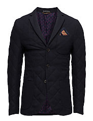 Quilted Blazer In Tweed Wool Quality Scotch & Soda Suits & Blazers