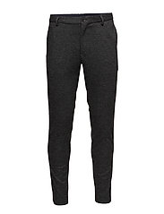 Pant in knitted wool quality with yarn dyed pattern - COMBO A
