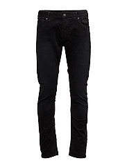 5-Pocket pant in stretch corduroy quality - BLACK