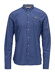 Classic longsleeve shirt with fixed pochet - COMBO A