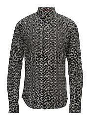 Longsleeve shirt with multi-coloureall over print - COMBO C