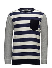Crew neck pull in mix & match quality - COMBO C