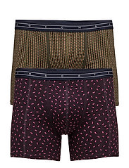 Boxer with all-over print in different colours - COMBO D