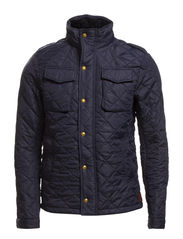 Military inspired quilted nylon jacket - 58 night
