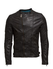 Mix & match biker jacket - 90 black