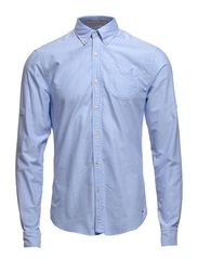 Button down oxford shirt, Sold with sleeve collectors - dessin B
