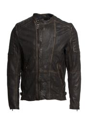 Mix & match biker jacket - 93 black rock