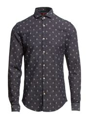 Dress shirt in woolen outlook - dessin B