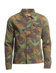 Military Overshirt - dessin A