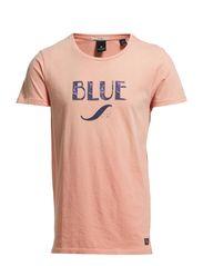 Vintage print t shirt - 26 dirty pink
