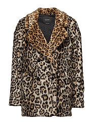 Scotch & Soda - Faux Fur Coat