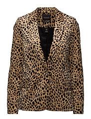 Velvet tailored blazer - COMBO A