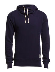 Home Alone twisted hoody - 57 navy