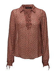 Sheer viscose printed top - COMBO A