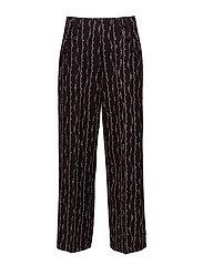 Scotch & Soda - Drapey Sailor Pant With Ruffle Pocket Detail
