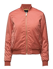 Satin Bomber Jacket - GAUCHO ROUGE