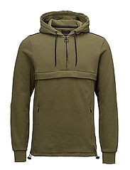 Club Nomade popover hoody - 1773 OLIVE GREEN