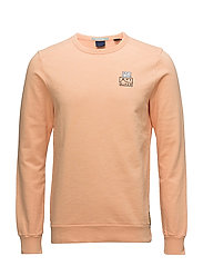Ams Blauw garment dyed sweat - 1747 FADED SPICE