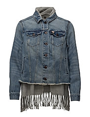 Scotch  &  Soda - Denim Trucker With Inner Lining
