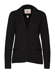 Sweat blazer - 8 BLACK