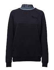 Scotch  &  Soda - Super Soft Sweat With Woven Collar