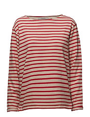 Scotch  &  Soda - Classic Breton Tee In Loose Fit
