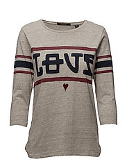 Scotch  &  Soda - Sporty Tee With 3/4 Sleeve