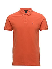 Classic  pique polo - ORANGE