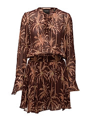 Viscose printed dress - COMBO C