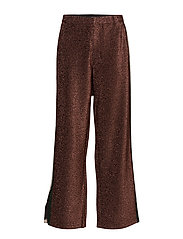 Stretch lurex pants - DISCO PINK