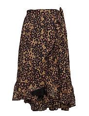 Printed knee skirt - COMBO D