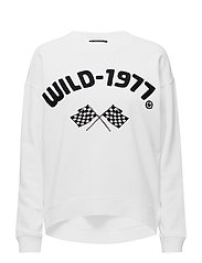Crew neck sweat - OFF WHITE