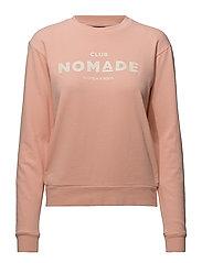 Club Nomade sweater - SALMON