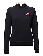 Feminine sweater - NAVY