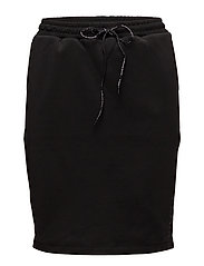 Club Nomade sweat skirt - BLACK