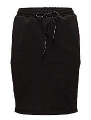 Club Nomade sweat skirt - BLACK
