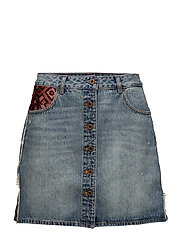 Seasonal denim skirt - SEASONED