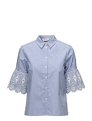 Shirt with embroidered sleeve - COMBO A
