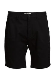 All-over two coloured chino short. - 90 black