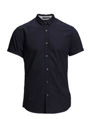 Shortsleeve oxford shirt with chestpocket - 59 midnight