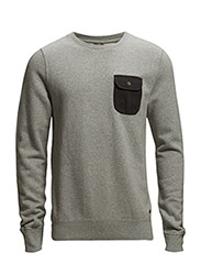 Classic crewneck sweat - 970 grey melange