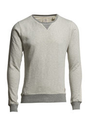 Home Alone crew neck sweat - 970 grey melange