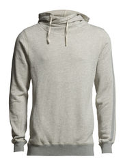 Home Alone twisted hoody - 970 grey melange